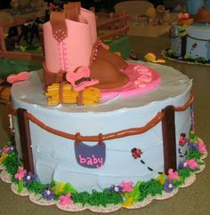 baby shower ideas for girls | Girl Baby Shower Cake