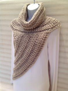 Katniss Inspired Cowl Wrap Top by StylewithStyle on Etsy