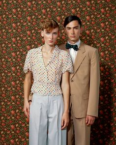 Photograph of TrujilloPaumier.  Portraits, Photography, Patterns, Fashion