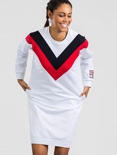 Značkové biele športové šaty Sport, Products, Deporte, Sports, Gadget