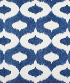 Duralee Dalesford Denim - awesome to use to re-do a rec room or a dorm room.  #sewing