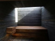 sauna. Roof light