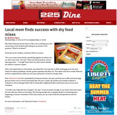 225 Dine article on Denicolas Foods