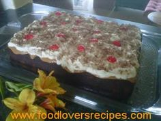 Kos, Tart Recipes, Cooking Recipes, Flan Cake, Delicious Desserts, Yummy Food, Meringue Cookies, South African Recipes, Small Cake