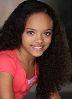 black curly hair kids | Newcomer Wendi Motte,10, is making her Hollywood debut! The pint-size ...