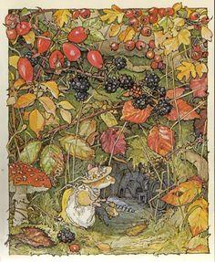 Autumn Alchemy: Inspirational Artists - Jill Barklem