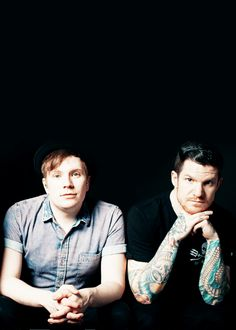 Patrick and andy