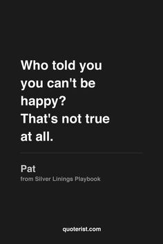 silver linings playbook quotes - Google Search