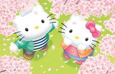 Zerochan anime image gallery for Hello Kitty, Wallpaper. Sanrio Wallpaper, Frühling Wallpaper, Spring Wallpaper, Hello Kitty Wallpaper, Cartoon Wallpaper, Hello Kitty Fotos, Hello Kitty Pictures, Anime Backgrounds Wallpapers, Cute Wallpapers