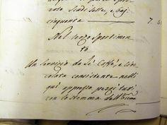 Inventario del 1779, particolare con la descrizione del servizio.