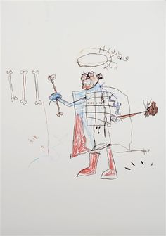 UNTITLED By Jean Michel Basquiat 1981