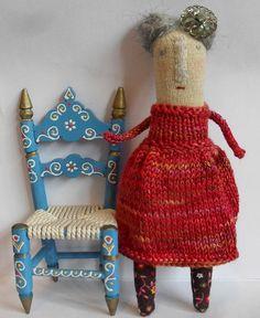Melodie Stacey es la creadora de las muñecas de punto Maidolls, unas preciosidades realizadas con mucho mimo y exquisito cuidado del detalle. Además de por su impecable técnica, pues no es sencillo…