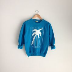 80s Vintage 1987 Florida Sweatshirt / Urban Outfitters Style