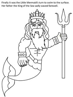 Little Mermaid Color3b Cartoons Coloring Pages Book