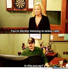 Parks and Rec! One of my favorite quotes from this