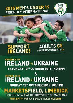 Republic Of Ireland, The Republic, Coming Out, Ukraine, Irish, Student, Football, Club, Marketing