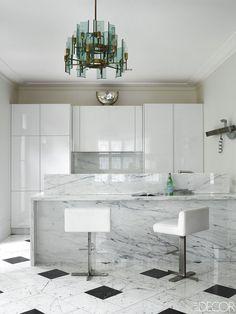 Notting Hill White Kitchen - ELLEDecor.com