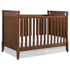 Baby Relax Alvar Mid-Century Crib - Walnut : Target