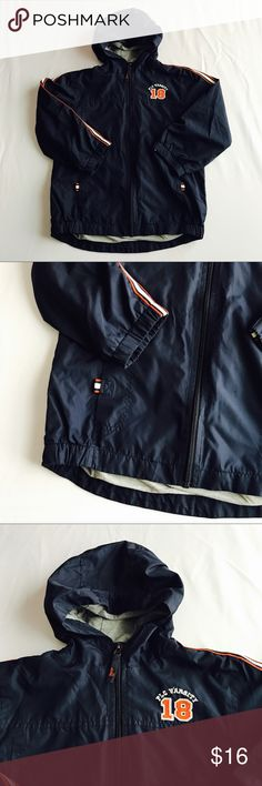 Children's Place Navy Blue Lined Windbreaker S 5/6 Children's Place Navy Blue Lined Windbreaker Small 5/6 Excellent condition no flaws 13.3 oz Children's Place Jackets & Coats