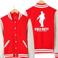 Baseball Jacket Call of Duty Game Clothing | IdolStore