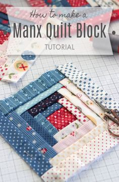 Christmas quilts made by Amy Smart including patterns and tutorials such as the Holiday Patchwork Forest, modern improv tree quilt block. Baby Quilt Tutorials, Quilting Tutorials, Quilting Projects, Sewing Projects, Sewing Tips, Sewing Tutorials, Sewing Hacks, Quilting Ideas, Tutorial Sewing
