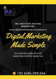 Digital Marketing Course in Panchkula Content Marketing, Affiliate Marketing, Online Marketing, Social Media Marketing, Digital Marketing, Youtube Advertising, Marketing Institute, Display Advertising, Marketing Training