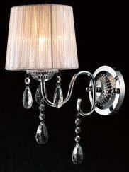 Maybe use 3 of these instead of one fixture...C131-101440W GEN-LITE SHEER COLLECTION CHANDELIER Chandeliers, Crystal Chandelier, Crystal Chandeliers, Lighting