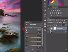 How to Use a B&W Layer in Photoshop to Adjust the Brightness of Colors In Photos