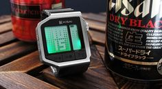 Tokyoflash Kisai Intoxicated Watch Has Built-In Breathalyzer
