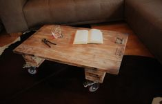 Couchtisch Industrial Look No28 Industrial, Designer, Table, Etsy, Furniture, Home Decor, Timber Wood, Decoration Home, Room Decor
