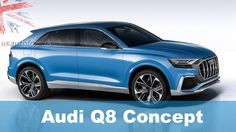 10 Reasons to Buy the 2018 Audi Q8;  1. It looks awesome and not like any other Audi before it.  2. It's practical. Seating for 5 adults and a 630-litre boot.  3. It's pretty green and economical. the Q8 concept is powered by a 3.0-litre TFSI engine paired with an electric motor which runs from a 17.9kWh lithium-ion battery.  4. It's powerful. Audi claims 0-62mph takes 5.4 seconds and the car has a top speed of 155mph  5. It's packed full of tech - Audis 12.3-inch Virtual Cockpit display…