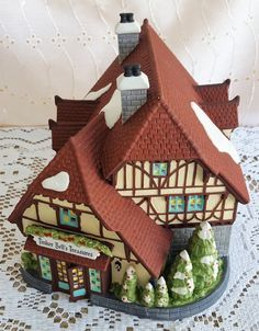 Vintage Retired Disney Parks Village Series, Tinker Bell's Treasures, Heritage Village Collection 53522, Dept 56, Department 56, Fantasyland by GenerationsEstate on Etsy #TinkerBell #Disney #Dept56 #Department56 #HeritageVillage #WaltDisneyWorld #Fantasyland #TinkerBellsTreasures generationsest.com