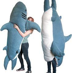 Shark sleeping bag! haha  awesome