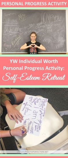 YW Individual Worth Personal Progress Activity: Self Esteem Retreat