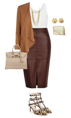 plus size from work to play/look4 by kristie-payne on Polyvore featuring maurices, River Island, Valentino, Hermès, Rebecca Minkoff and CC SKYE