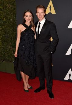 Benedict Cumberbatch and Keira Knightley attend Governors awards – in pictures