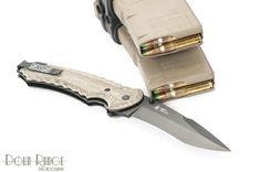 "SOG Kiku Folder Large - Black Hardcased: Blade Length: 4.6"" Weight: 7.00 oz. Blade Thickness: .16"" Steel Type: AUS-8. Photo Credit: Down Range Photography"