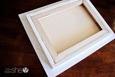 DIY photo canvas! one of the better tutorials
