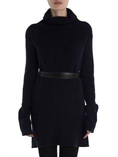 Valentino - Ribbed Long Sleeve Pullover