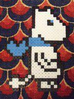 Moomintroll Perler by aenimafist