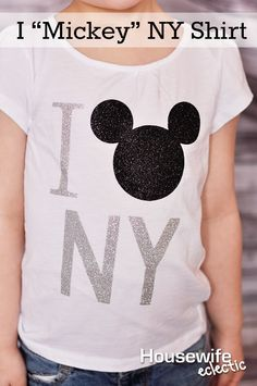 """Housewife Eclectic: I """"Mickey"""" NY Shirt"""
