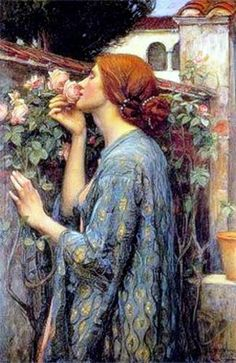 John William Waterhouse The Soul of the Rose