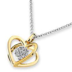 'The Jewel '18 K White Gold Diamond Pendant