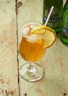 Lemon Whistle Cocktail - Steam Whistle Beer and Lemonade Vodka