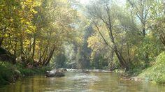 Nahr Ibrahim river scene at janna