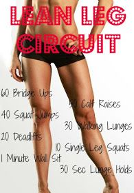 A great workout for your legs! I've always had GREAT gymnast legs and you can too!