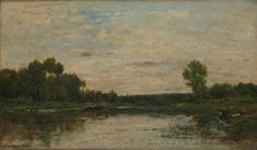 View on the Oise Charles-François Daubigny 1873