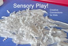 Sensory Play! Why it is important and simple ways to play every day.