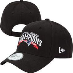 New England Patriots NFL 9FORTY Adjustable Black Division Champions Hat  http://www.fansedge.com/New-England-Patriots-NFL-9FORTY-Adjustable-Black-Division-Champions-Hat-_684747468_PD.html?social=pinterest_pfid26-13920