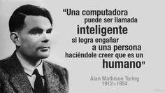 """""""A veces las personas que menos pensamos nos hacen ser las personas que jamás imaginamos"""" Alan Turing, Imagines, Ecards, Mindfulness, Memes, Enigma, Google, Frases, World"""
